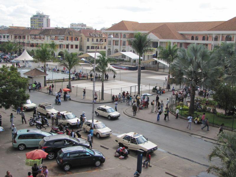 Place du 13 Mai à Antananarivo Madagascar