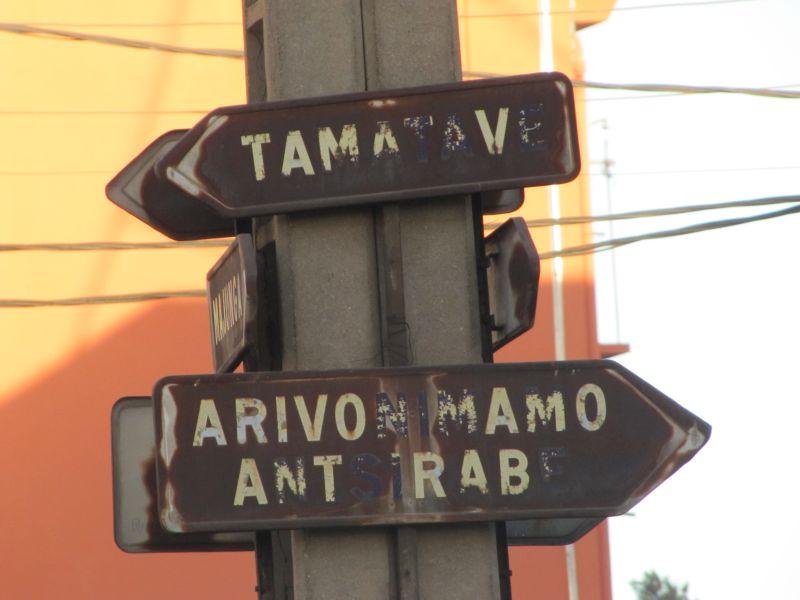 Rues Antananarivo