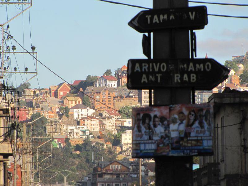 Nécessité de réorganiser la circulation à Tana