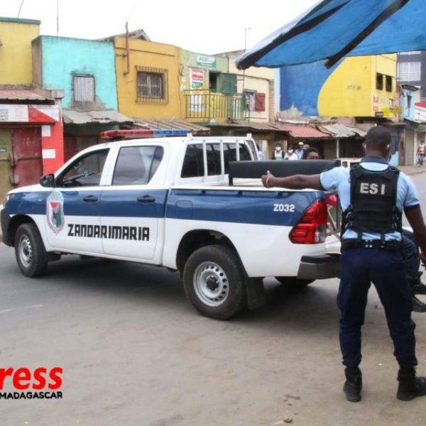 Au temps du Coronavirus Les rues d'Antananarivo 2