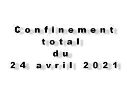 Rues de Tana au temps du confinement total du 24 avril 2021