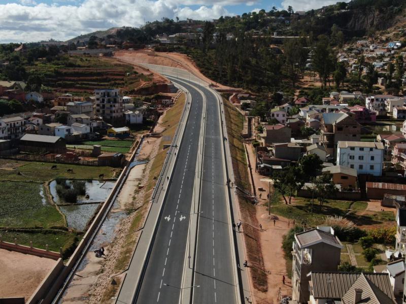 Inauguration de la Rocade Iarivo by Rajoelina 24 juin 2021
