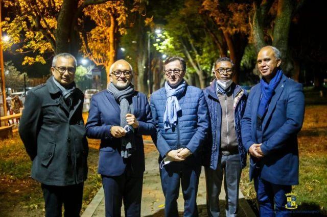 les nouveaux jardins d'Ampefiloha Antananarivo 2021